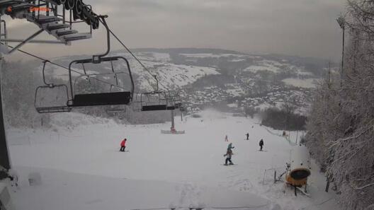 Zdjęcie z nowości Tylko 30 minut od Krakowa - ośrodek narciarski SZKLANA GÓRA SKI w Harbutowicach,  zaprasza na stok. NOWY WIDOK - zobacz.