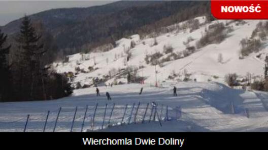 Zdjęcie z nowości Nowy widok z górnej stacji Ośrodka Narciarskiego Wierchomla - Muszyna Dwie Doliny. Sprawdź aktualne warunki na stoku.