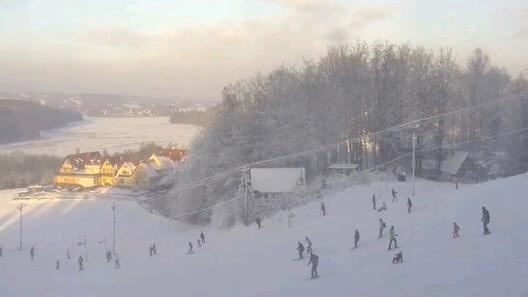 Zdjęcie z nowości Koszałkowo - Centrum Aktywnego wypoczynku Wieżyca na Kaszubach - zaprasza na narty codziennie od 9-22 a w weekendy od 8-22.