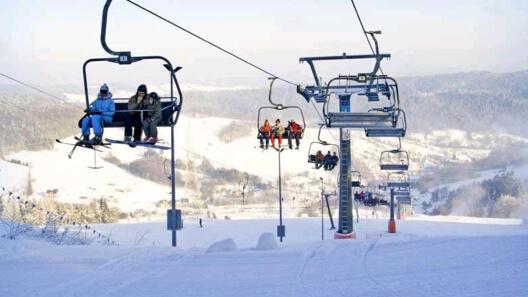 Zdjęcie z nowości Kompleks Narciarski SŁOTWINY  w Krynicy Zdroju - zaprasza narciarzy, na szusy sobota-niedziela - 20% taniej. Zobacz stok.