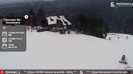 Zdjęcie z nowości CZORSZTYN SKI w Kluszkowcach - 11 grudnia WIELKIE OTWARCIE SEZONU ! Do dyspozycji narciarzy otwarta zostanie Trasa nr 1 oraz wyciąg krzesełkowy B.