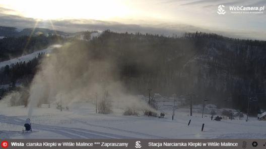 Zdjęcie z nowości Dziś o 10 rusza ośrodek narciarski KLEPKI w Wiśle Malince. Będziecie?