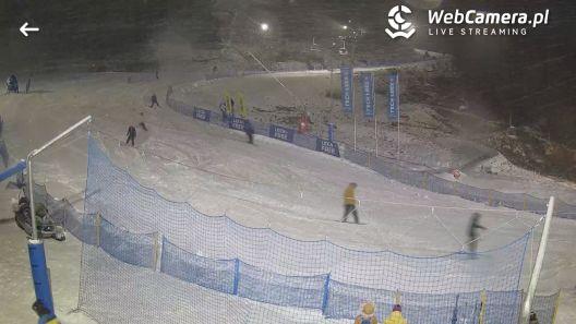 Zdjęcie z nowości BeSKIdy Winter go! Inauguracja sezonu narciarskiego w województwie śląskim! Wisła SKOLNITY  dziś do 21 bezpłatna jazda na stoku.