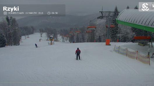 Zdjęcie z nowości Rusza kanapa na górnej stacji ośrodka narciarskiego w Czarnym Groniu w Rzykach. Już nie możecie się doczekać?