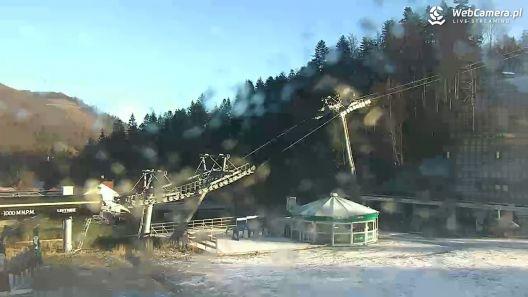 Widok z Kamery na SOLISKO w Szczyrk Mountain Resort