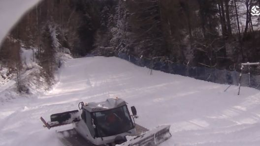Widok z Kamery na wyciąg Stonoga w Wierchomli.