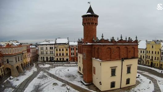 Widok z Kamery na Rynek w Tarnowie na żywo