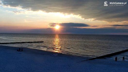 Widok z Kamery na plażę w Niechorzu-  NOWOŚĆ