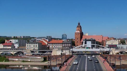Widok z Kamery na Gorzów Wielkopolski na żywo