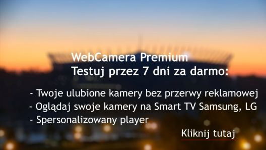 Zaloguj się i oglądaj kamery bez reklam.