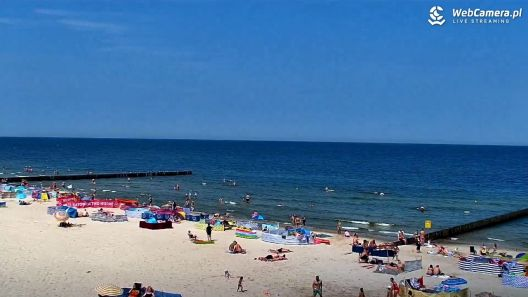Widok z Kamery na plażę w Niechorzu