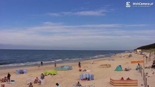 Widok z Kamery na plażę w Mrzeżynie - NOWOŚĆ