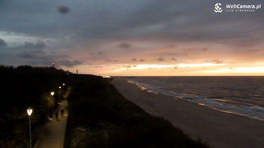 Kamera z widokiem na plażę w Dziwnowie ponownie aktywna