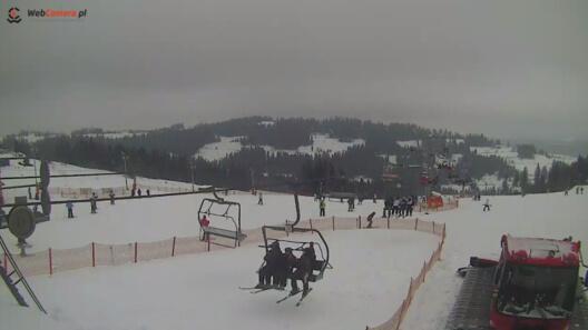 Zdjęcie z nowości Warunki narciarskie na Rusiń-Ski Kolej bardzo dobre, pokrywa śnieżna do 120 cm. Pogoda dla narciarzy Online - zobacz teraz.
