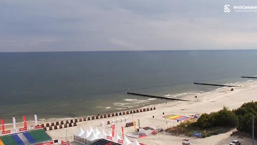 Zdjęcie z nowości Ewakuacja w Kołobrzegu - saperzy wyciągną z morza trzy niewybuchy z czasów II wojny światowej. Zobacz live