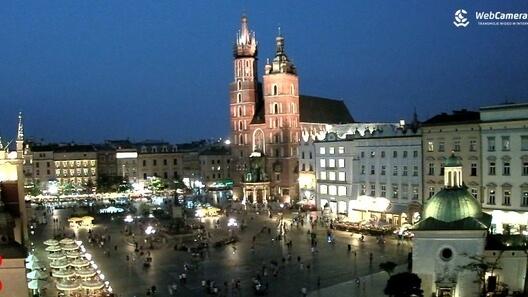 Zdjęcie z nowości Kraków - miasto, które nigdy nie zasypia. Idealna propozycja na letni, sierpniowy wieczór. Zobaczcie na żywo