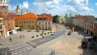 Widok z Kamery na Plac Łokietka w Lublinie