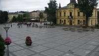 Ujęcie z kamery na Nowy Targ.