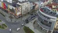 Kamera z panoramicznym widokiem na Olsztyn.