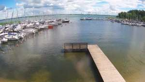 Widok na Jezioro Niegocin - KAMERA LIVE