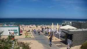 Kamera Władysławowo na plażę, promenadę, aleję gwiazd, wejście nr 5