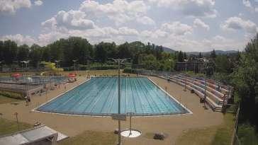 Obraz na pływalnie otwartą w Andrychowie obok Wadowic