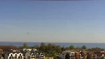 Obraz na morze z Chłapowa, kamera na żywo.