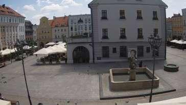 Ujęcie na przepiękne miasteczko - Gliwice.