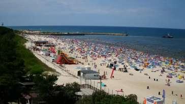 Łeba kamera, plaża, wydmy, miasto - zobacz też inne kamery w tej miejscowości