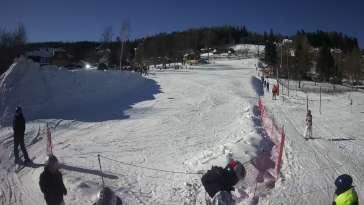 Widok online na Stok narciarski MACIUŚ