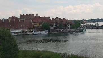 Widok z Kamery na port w Mikołajkach - NOWOŚĆ