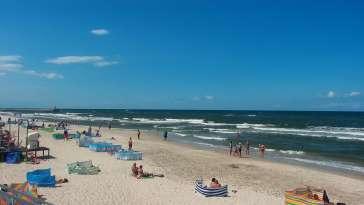 Kamera Mrzeżyno z widokiem na morze.