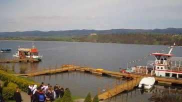 Widok z Kamery na Jezioro Czorsztyńskie na żywo