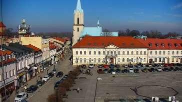 Kamera na rynek w Oświęcimiu