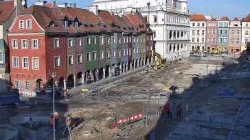POZNAŃ - widok na Stary Rynek