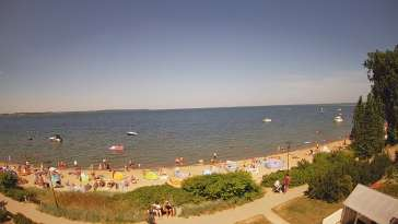 Widok na Promenadę i Plażę w REWIE