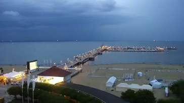 Widok na Monciak w Sopocie.