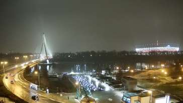 Widok na Stadion Narodowy w Warszawie