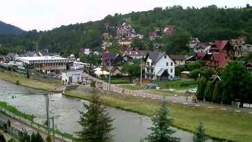 Zdjęcie z kamery Szczawnica - deptak