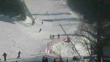 Widok z dolnej stacji Szczyrk Mountain Resort w Solisku