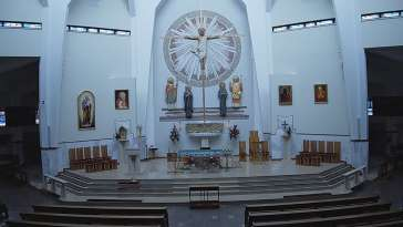 Zdjęcie na Ołtarz kościoła Świętego Stanisława w Andrychowie.