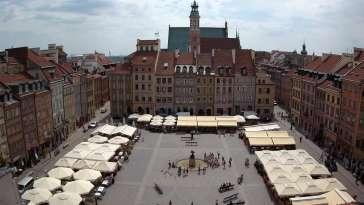 Widok z Kamery na żywo na STARÓWKĘ w Warszawie