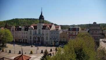 Kamera z widokiem na Rynek w Wejherowie.