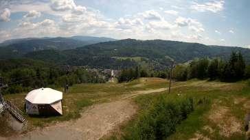 KAMERA LIVE z rodzinnego ośrodka narciarskiego STOK w Wiśle.