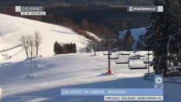 Zdjęcie z kamery Zieleniec Ski Arena e-skipass [playlista]