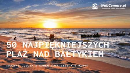 Okładka telewizji z 50 najpiękniejszych plaż w polsce