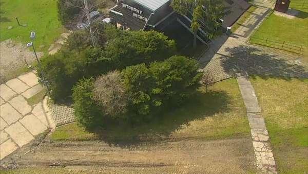 Widok z kamery na górnej stacji PKL na Butorowym Wierchu