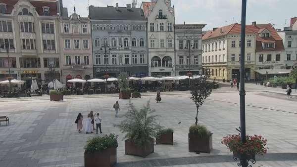 Widok z Kamery na Rynek w Bydgoszczy