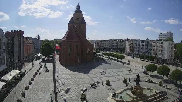 Widok z Kamery na Katedrę Gorzowską już online