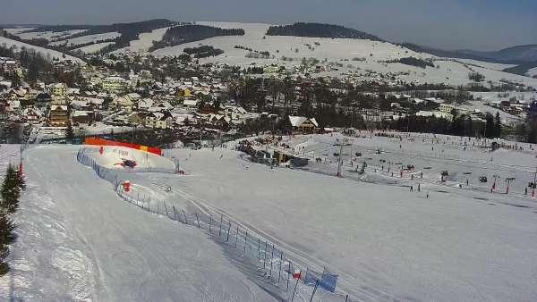 Obraz na stok w Master Ski w Tyliczu - sprawdź warunki online.